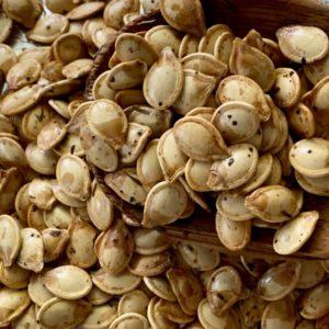 Thyme Roasted Pumpkin Seeds