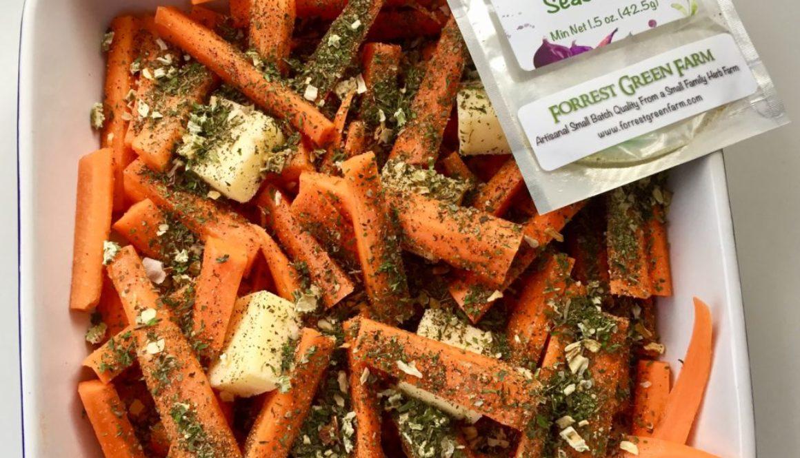 Zesty Roasted Carrots