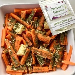 Zesty Roasted Carrots