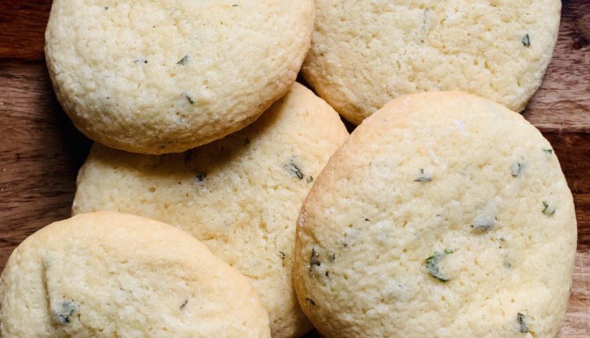 Lemon Balm Cookies