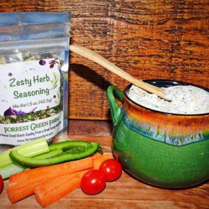 Zesty Herb Dip