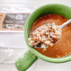 Wild Rice and Chorizo Soup