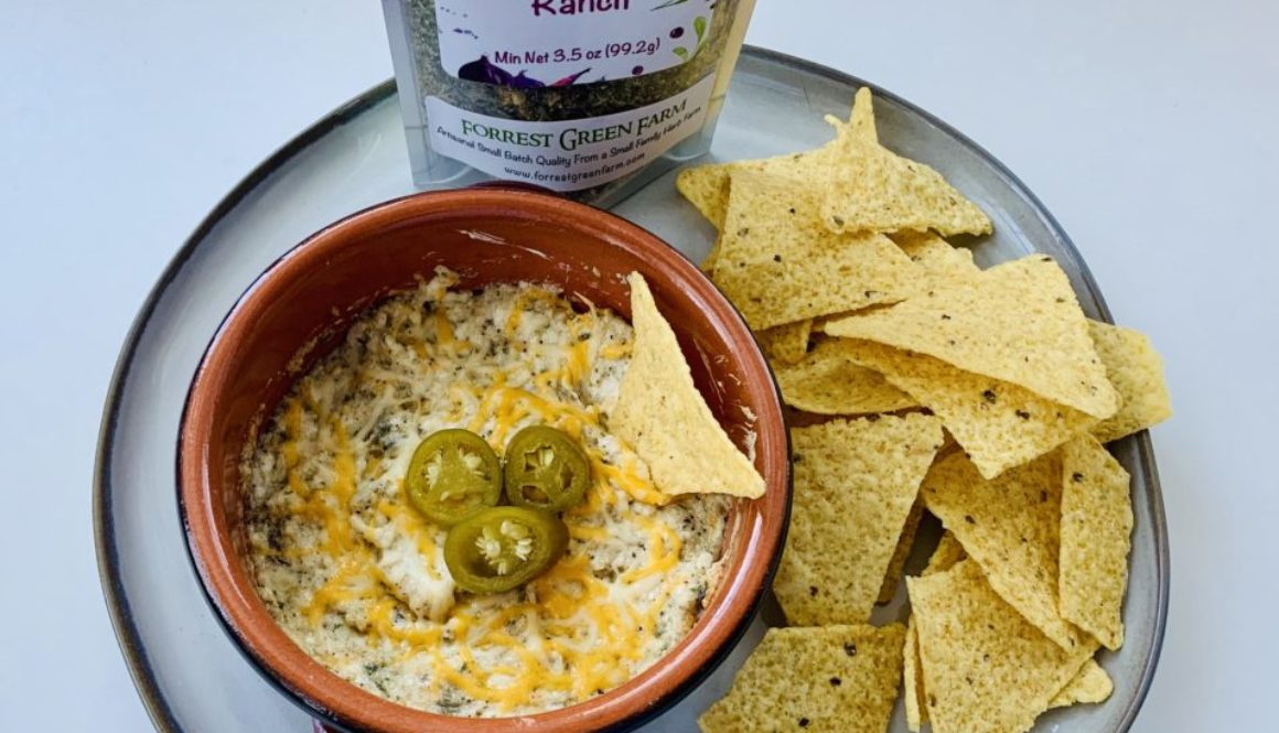 Jalapeño Ranch Cream Cheese Dip