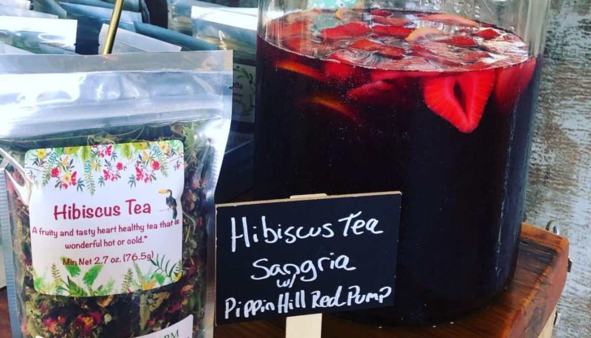 Hibiscus Tea Sangria