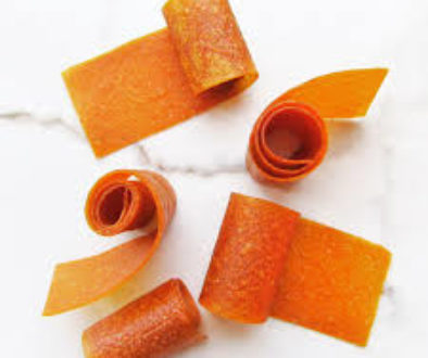 Pumpkin Fruit Roll-Ups