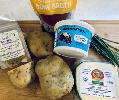 Instant Pot Cheesy Ranch & Bacon Potatoes